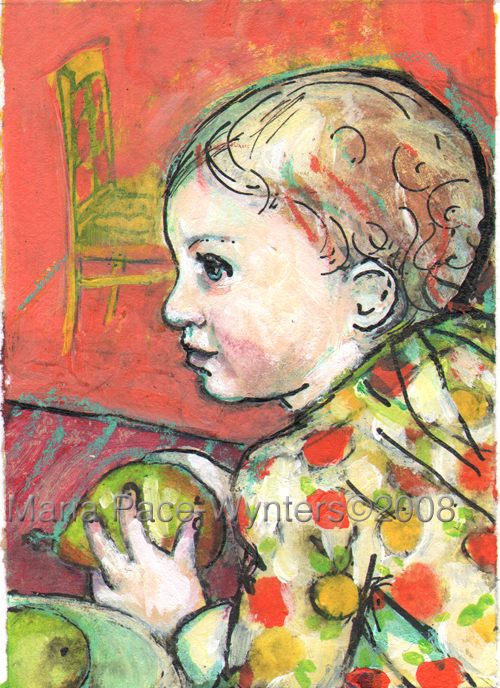 aceo-girl-holding-a-pear