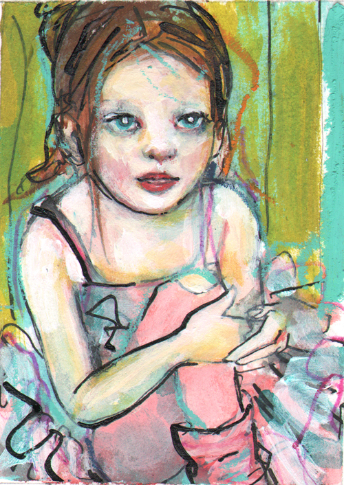 aceo-the-ballerina