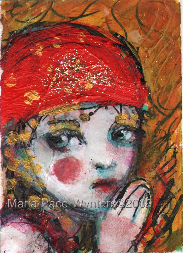 aceo-circus-girl-and-lion-study1