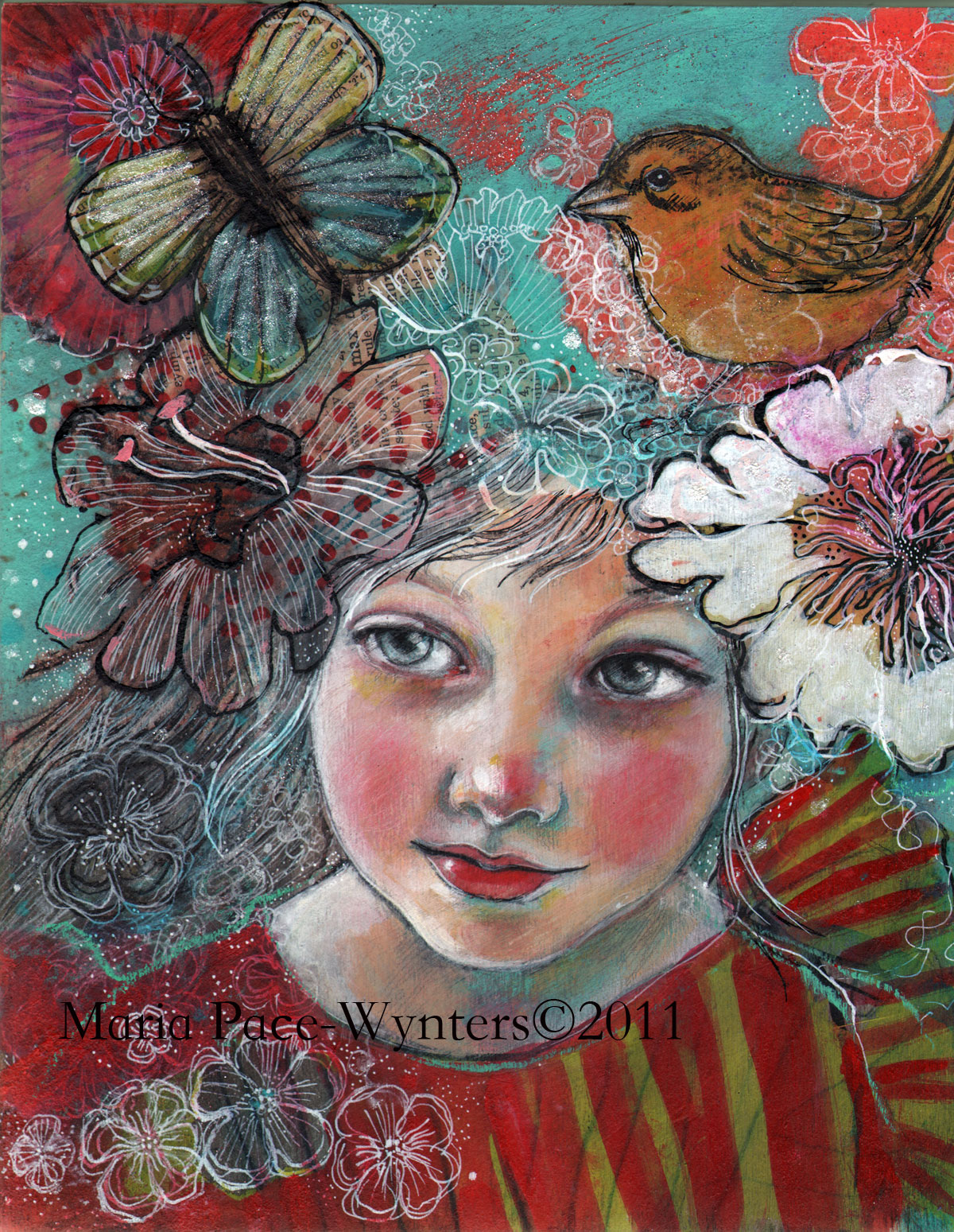January 2011 maria pace wynters - The hideout in the woods an artists dream ...