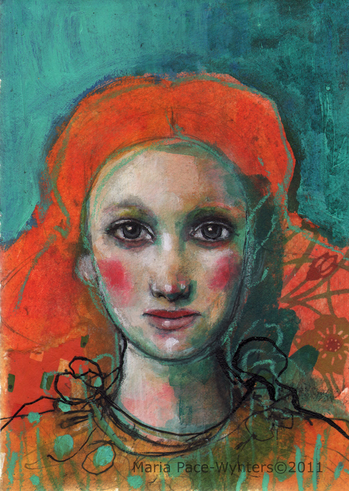 Red Hair Maria Pace Wynters
