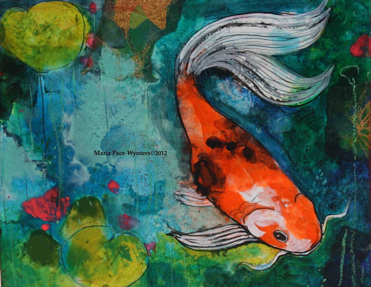 the small koi pond 2 maria pace wynters
