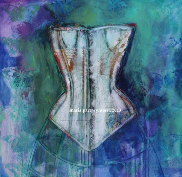 Corset-And-Butterflies
