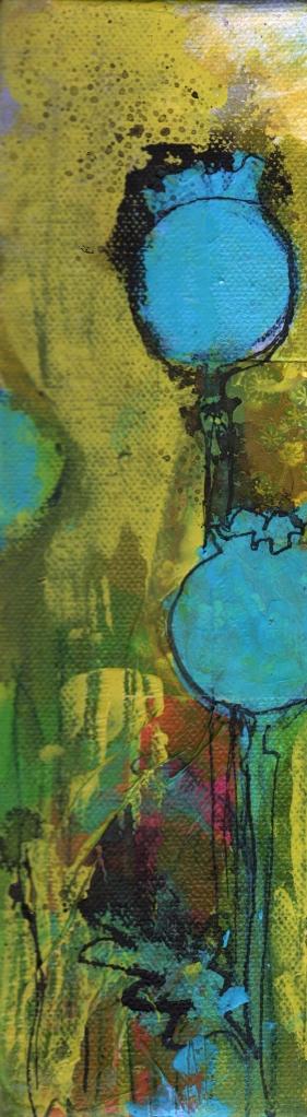 Blue Poppy Garden 2 side b