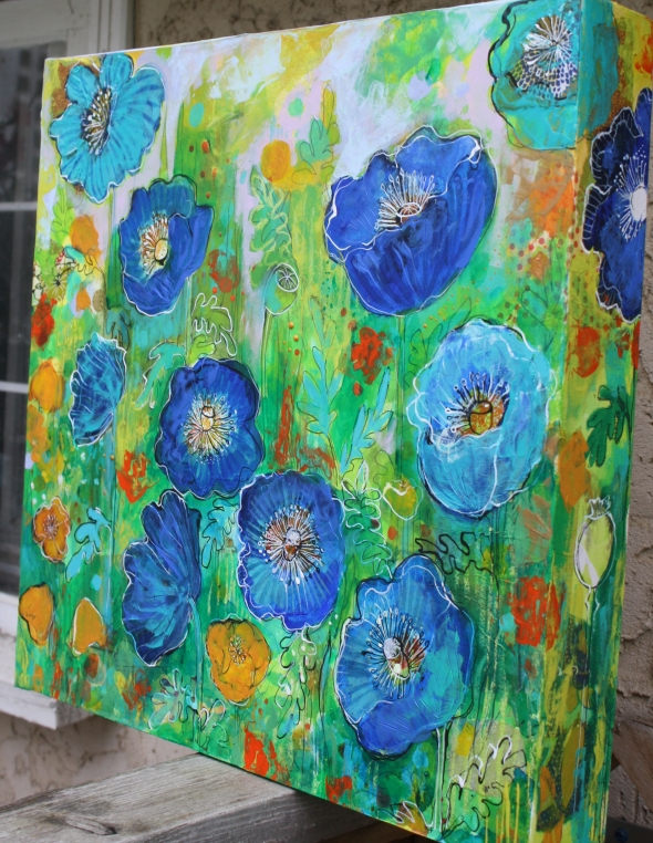 Blue Poppy Garden side 2