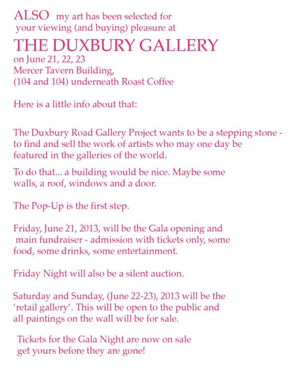 Duxbury info