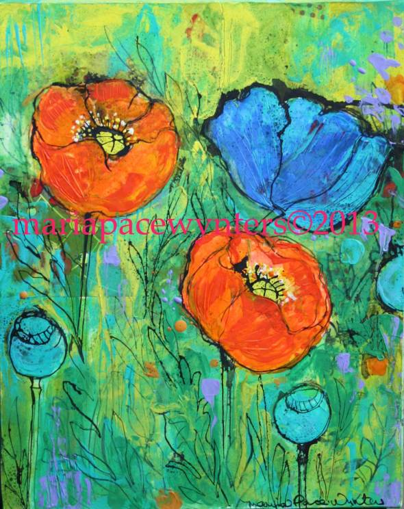 Orange-and-Blue-Poppies