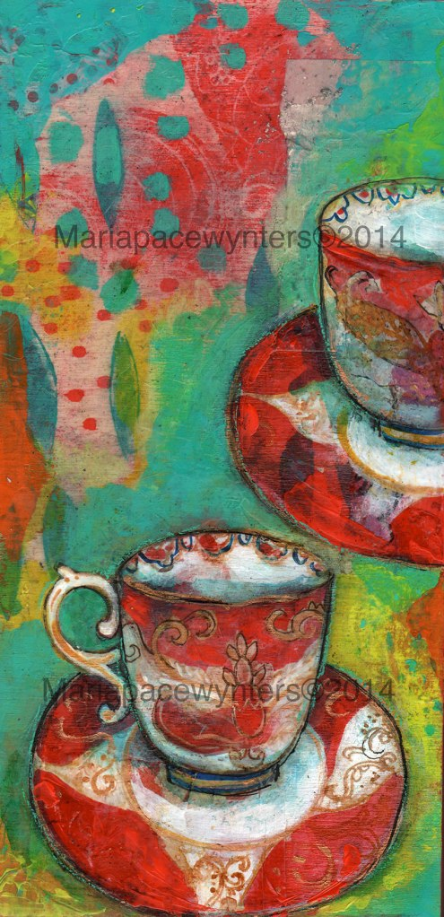 Red-Teacups