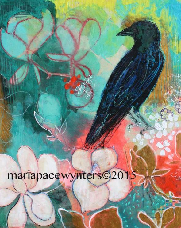 Crow-And-Magnolias-2