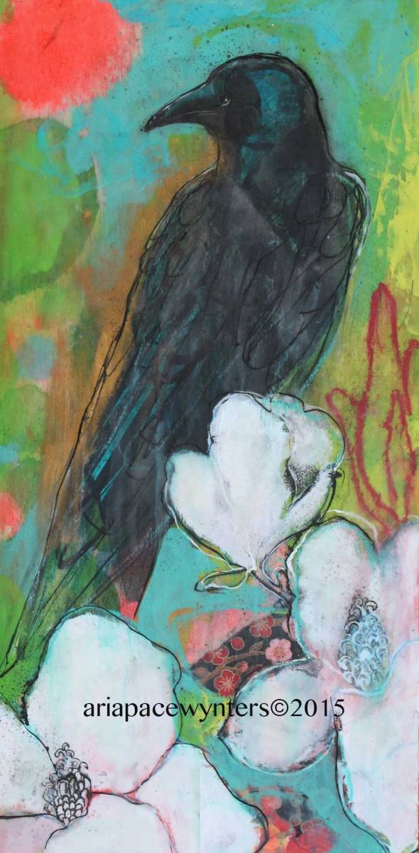 Crow-And-Magnolias