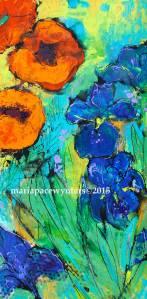 Orange-Poppies-And-Blue-Irises