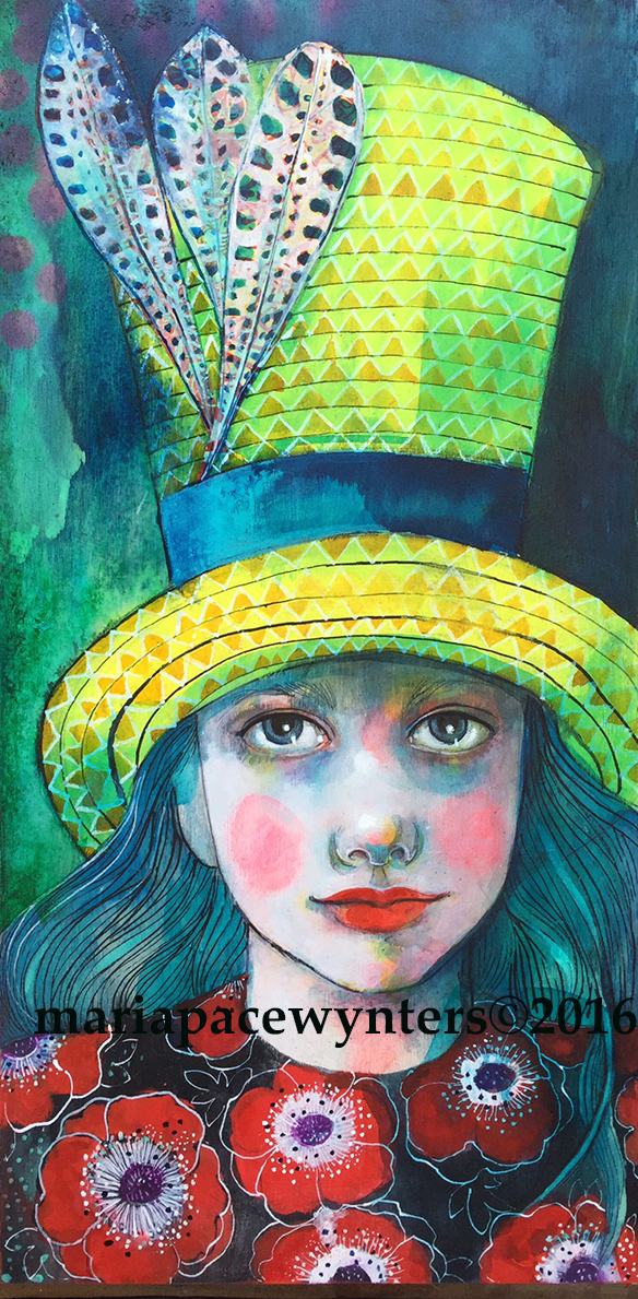 Warrior In A Yellow Hat